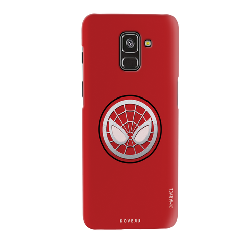 Spidermans Emblem Cover Case For Samsung Galaxy A8 Plus