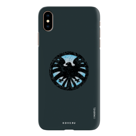 Shields Emblem Cover Case For iPhone XS Max