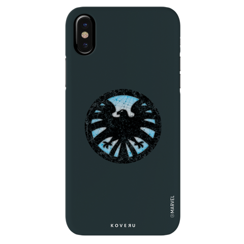 Shields Emblem Cover Case For iPhone XS