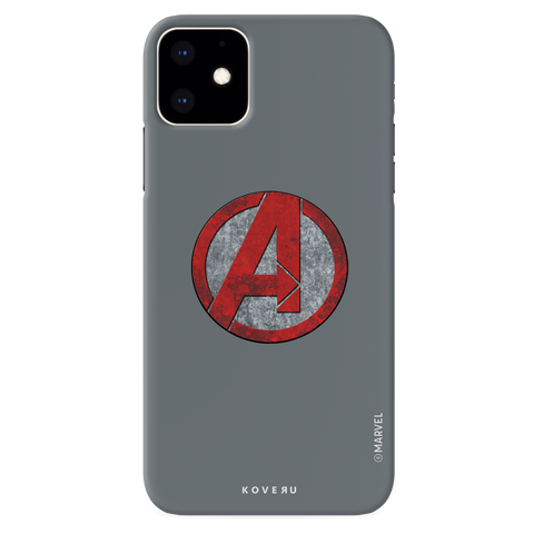 Avengers Emblem Cover Case For iPhone 11