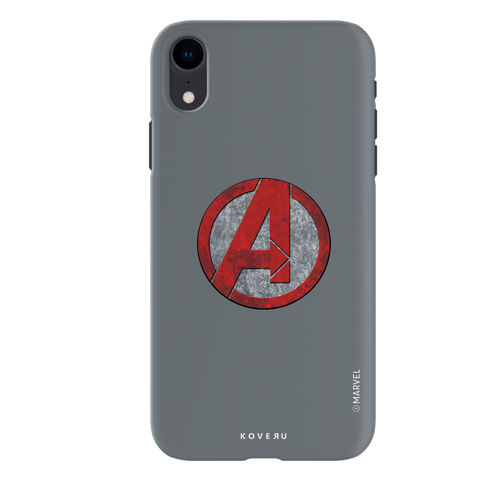 Avengers Emblem Cover Case For iPhone XR