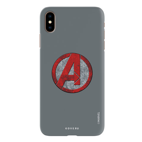 Avengers Emblem Cover Case For iPhone XS Max