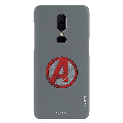 Avengers Emblem Cover Case For OnePlus 6