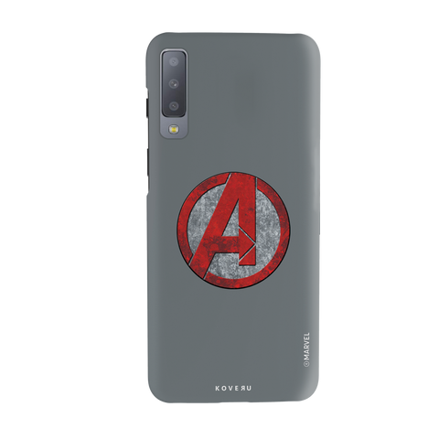 Avengers Emblem Cover Case For Samsung Galaxy A7 2018