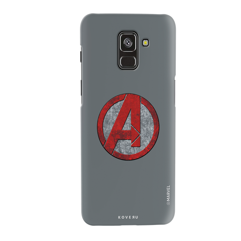 Avengers Emblem Cover Case For Samsung Galaxy A8 Plus