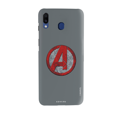 Avengers Emblem Cover Case For Samsung Galaxy M20