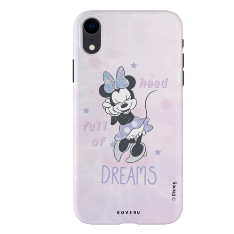 Minnie Mouse - Head Full of Dreams Cover Case For iPhone XR