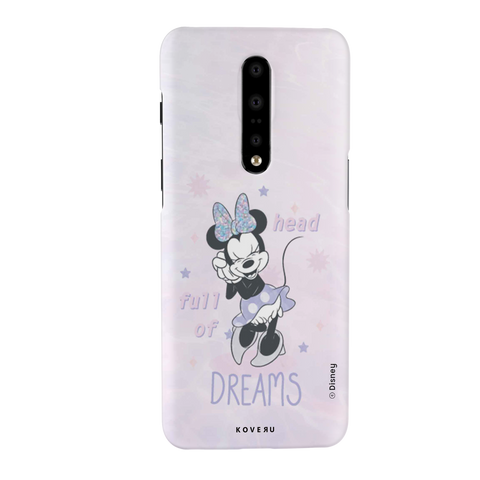 Minnie Mouse - Head Full of Dreams Cover Case For OnePlus 7 Pro