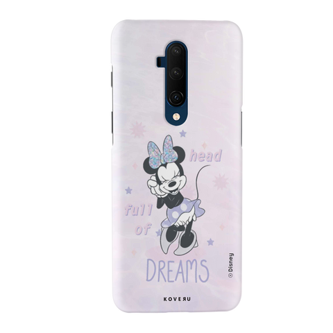 Minnie Mouse - Head Full of Dreams Cover Case For OnePlus 7T Pro