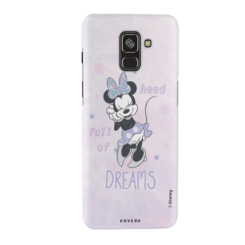 Minnie Mouse - Head Full of Dreams Cover Case For Samsung Galaxy A8 Plus