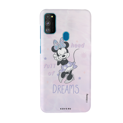 Minnie Mouse - Head Full of Dreams Cover Case For Samsung Galaxy M30S