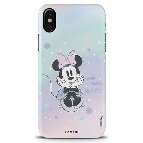 Minnie Mouse - Magical Starry Nights Cover Case For iPhone X