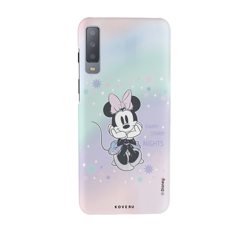 Minnie Mouse - Magical Starry Nights Cover Case For Samsung Galaxy A7 2018