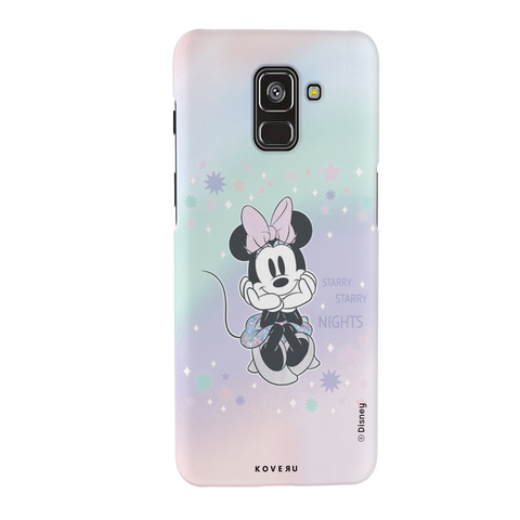 Minnie Mouse - Magical Starry Nights Cover Case For Samsung Galaxy A8 Plus