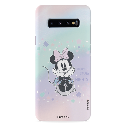Minnie Mouse - Magical Starry Nights Cover Case For Samsung Galaxy S10