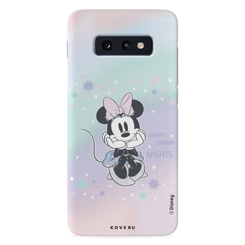 Minnie Mouse - Magical Starry Nights Cover Case For Samsung Galaxy S10E