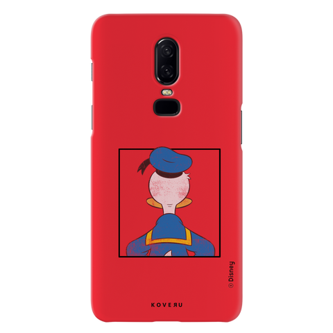 Donald Duck - Looking Back At Ya! Cover Case For OnePlus 6