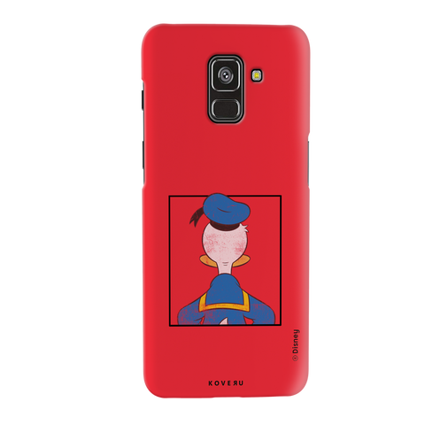 Donald Duck - Looking Back At Ya! Cover Case For Samsung Galaxy A8 Plus