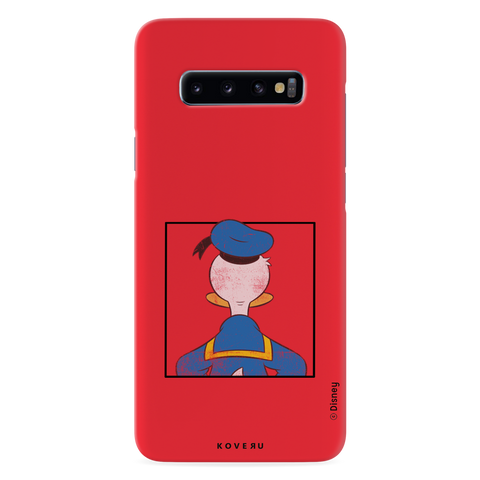 Donald Duck - Looking Back At Ya! Cover Case For Samsung Galaxy S10