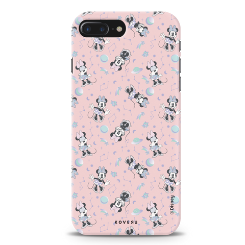 Minnie Mouse - Bubbly Pink Cover Case For iPhone 7/8 Plus