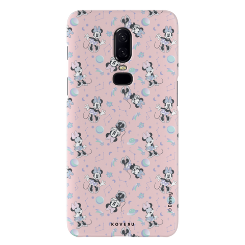 Minnie Mouse - Bubbly Pink Cover Case For OnePlus 6