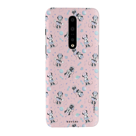 Minnie Mouse - Bubbly Pink Cover Case For OnePlus 7 Pro