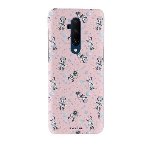 Minnie Mouse - Bubbly Pink Cover Case For OnePlus 7T Pro