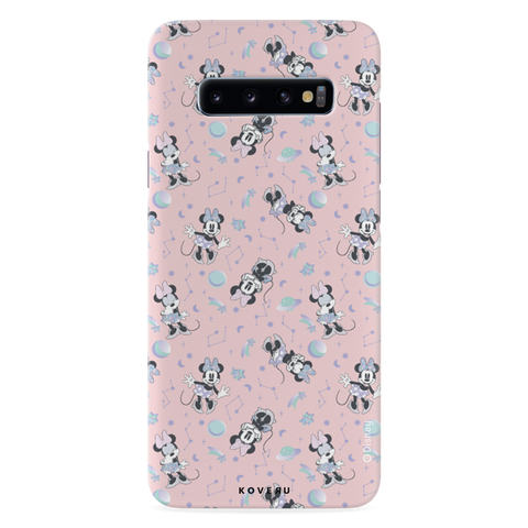 Minnie Mouse - Bubbly Pink Cover Case For Samsung Galaxy S10
