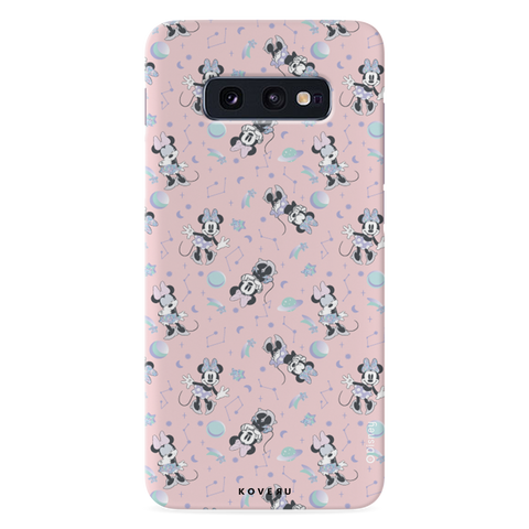 Minnie Mouse - Bubbly Pink Cover Case For Samsung Galaxy S10E