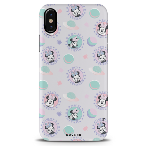 Minnie Mouse - Always Dreaming Cover Case For iPhone XS