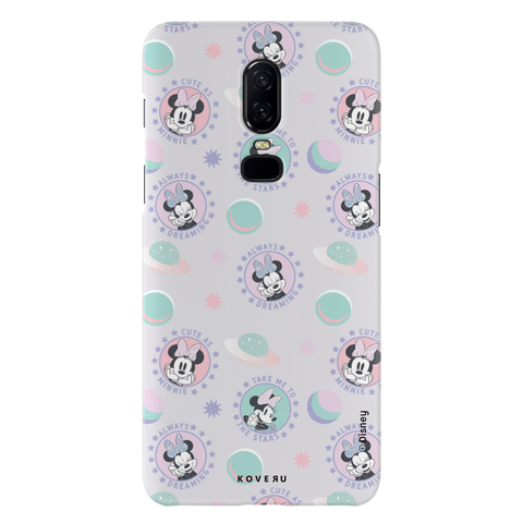 Minnie Mouse - Always Dreaming Cover Case For OnePlus 6