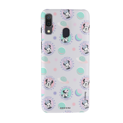Minnie Mouse - Always Dreaming Cover Case For Samsung Galaxy A20