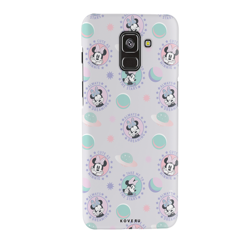 Minnie Mouse - Always Dreaming Cover Case For Samsung Galaxy A8 Plus