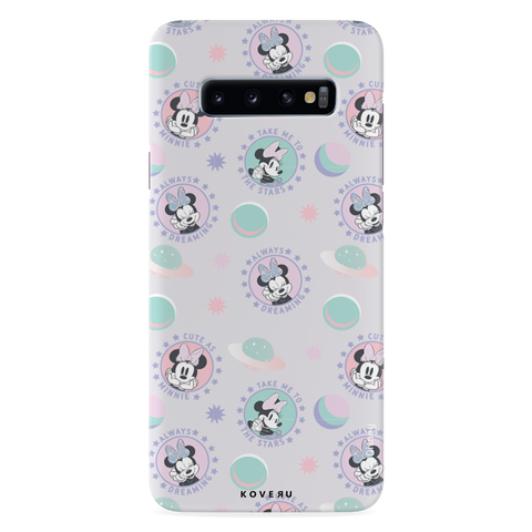 Minnie Mouse - Always Dreaming Cover Case For Samsung Galaxy S10