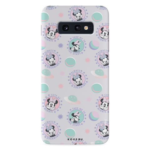 Minnie Mouse - Always Dreaming Cover Case For Samsung Galaxy S10E