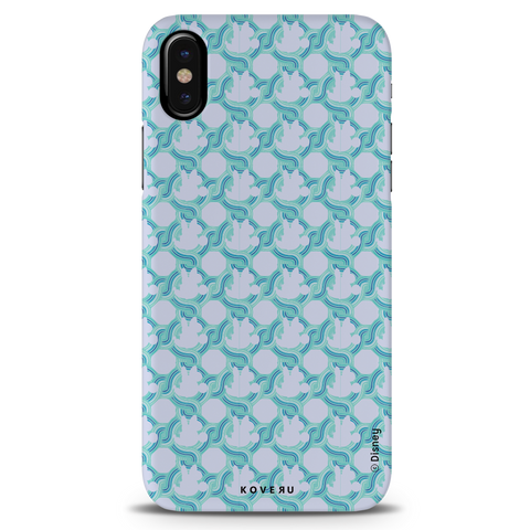 Minnie Mouse Patten Cover Case For iPhone X