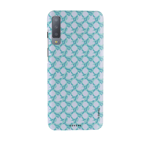 Minnie Mouse Patten Cover Case For Samsung Galaxy A7 2018