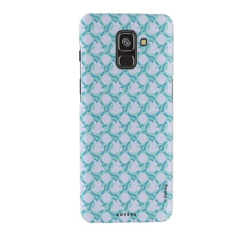 Minnie Mouse Patten Cover Case For Samsung Galaxy A8 Plus
