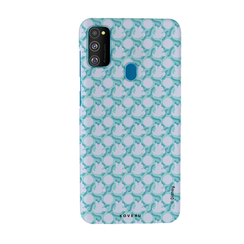 Minnie Mouse Patten Cover Case For Samsung Galaxy M30S