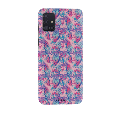 Minnie Mouse - The Vibrant Beauty Cover Case For Samsung Galaxy A51