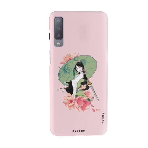 Mulan: Be Your Own Hero Cover Case For Samsung Galaxy A7 2018