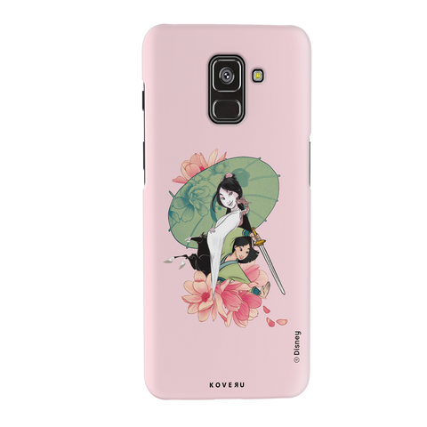 Mulan: Be Your Own Hero Cover Case For Samsung Galaxy A8 Plus