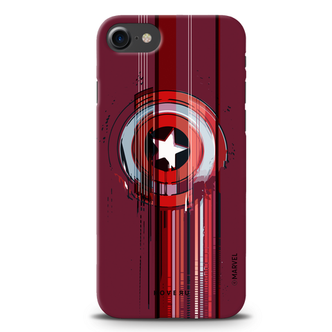 The stripes of Captain America Cover Case for iPhone 7/8