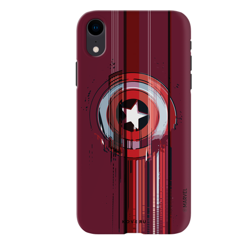 The stripes of Captain America Cover Case for iPhone XR