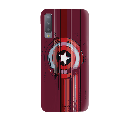 The stripes of Captain America Cover Case for Samsung Galaxy A7 2018