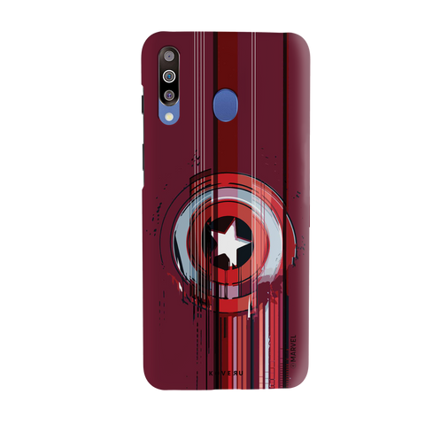 The stripes of Captain America Cover Case for Samsung Galaxy M30