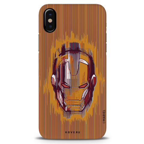 The shades of Iron Man Cover Case for iPhone X