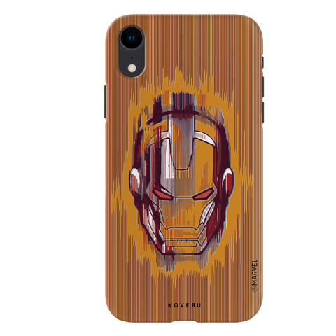 The shades of Iron Man Cover Case for iPhone XR
