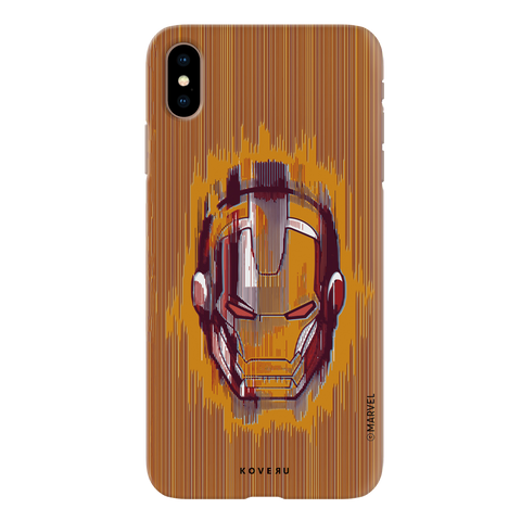The shades of Iron Man Cover Case for iPhone XS Max