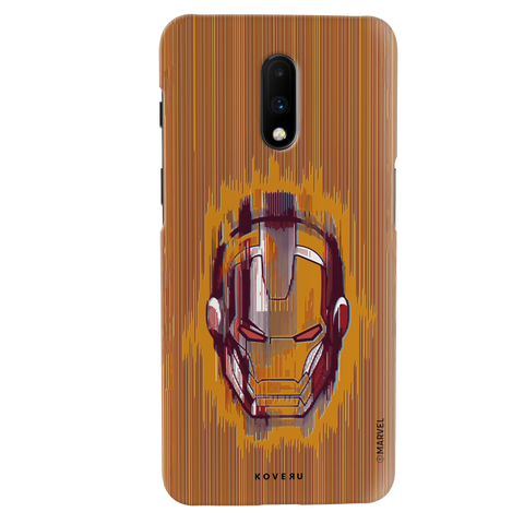 The shades of Iron Man Cover Case for OnePlus 7